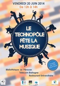 Affiche Fête musique 2014