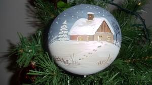 neige à Noël