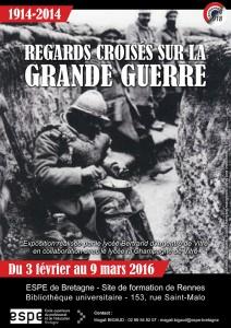 Du 3 février au 9 mars à la BU ESPE à Rennes